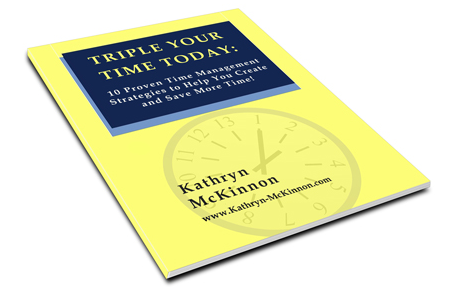 Triple Your Time Today Workbook