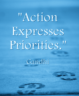 Kathryn McKinnon Executive Coach, Time Management Expert-Action Expresses Priorities