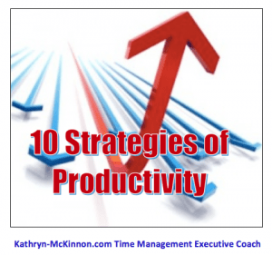10 Strategies of Productivity